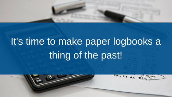 banner heading make paper logbooks a thing of the past