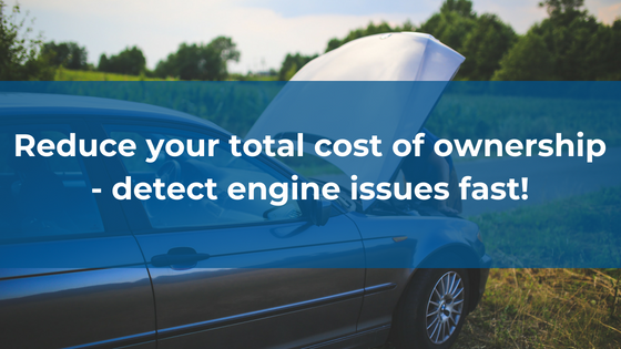 Detect engine issues fast banner